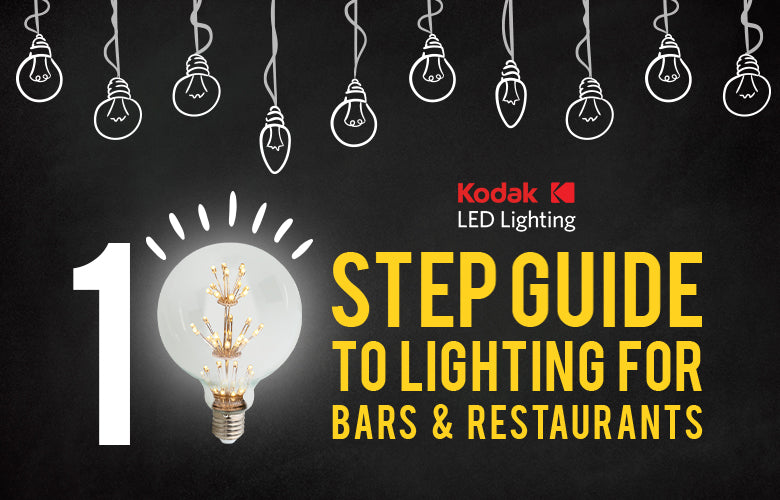 A 10 Step Guide to Lighting for Bars and Restaurants