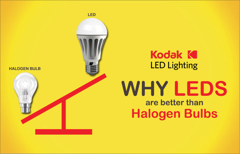 Why LEDs are better than Halogen Bulbs – KODAK LED Lighting