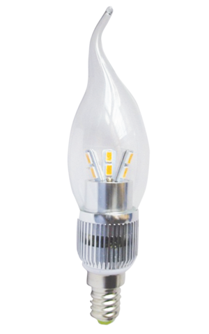 Candle LED Flame Tip 6W