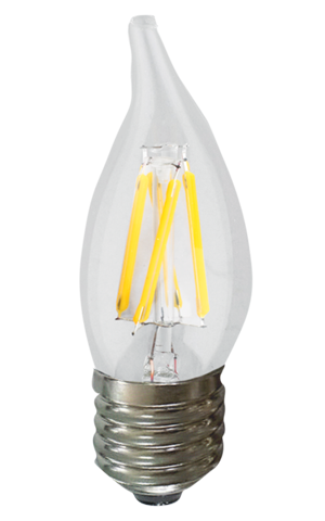 Candle LED Flame Tip 2W - END OF LINE SALE! HALF PRICE! WHILE STOCKS LAST!