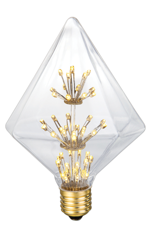 42068 Pointed Pyramid Star Clear 5W - PRICE REDUCED BY 50%! #bfcm SALE! MUST CLEAR WAREHOUSE!