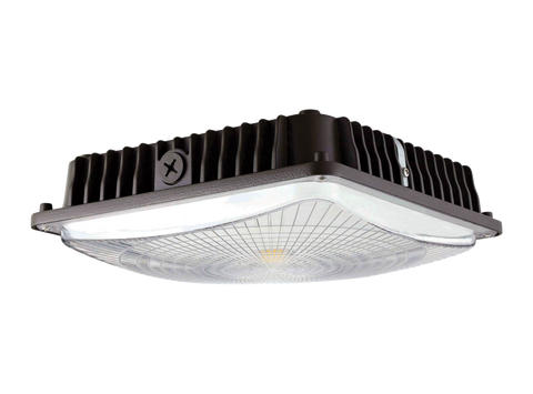 LEN-1429-UL-5000 60W LED Canopy Light 5000K 7800Lm - FREE SHIPPING!