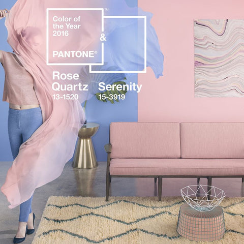 Rose Quartz + Serenity | 2016 Pantone Colors of the Year