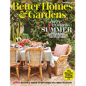 Better Homes and Gardens Magazine, June 2018