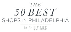 Studio 882 voted 50 best shops in Philadelphia by PHILLY MAG