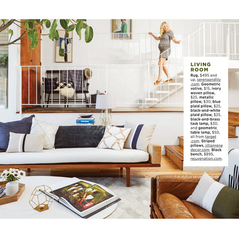 PILLOWS as seen in Good Housekeeping Magazine with Emily Henderson - JILLIAN RENE DECOR