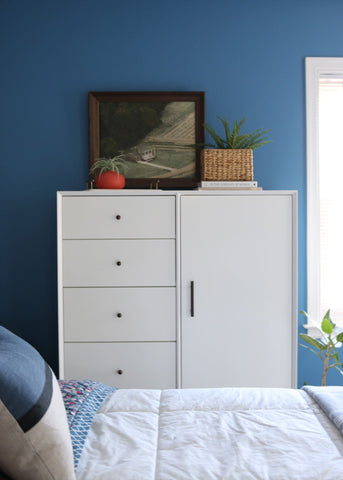 Chifforobe View: Guest Bedroom