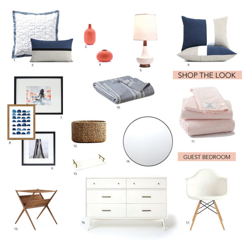 Shop the Look: Guest Bedroom Makeover