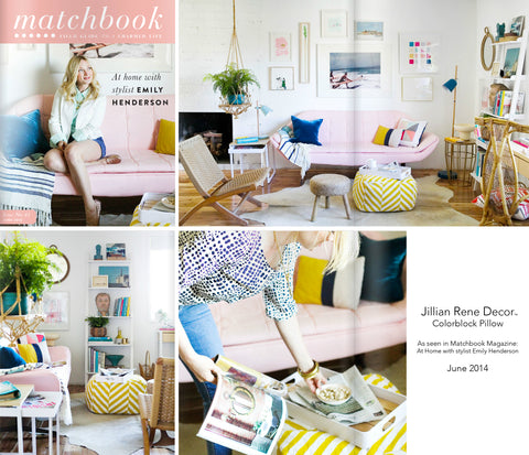 Matchbook Magazine with Emily Henderson