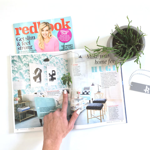 As seen in Redbook Magazine - FRINGE PILLOW by Jillian Rene Decor