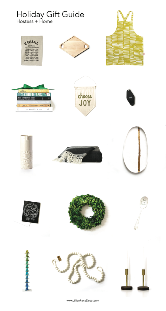 Holiday Gift Guide: Hostess + Home
