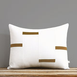 Interconnection Pillow - Caramel and Cream