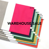 WAREHOUSE SALE 12x16 Colorblock Pillow Cover with Cream Stripe