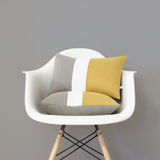 Squash Yellow Colorblock Pillow