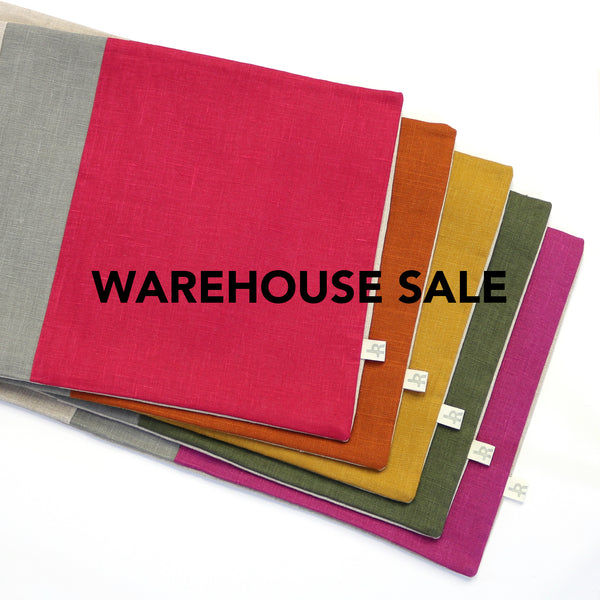WAREHOUSE SALE 12x20 Colorblock Pillow Cover with Stone Stripe