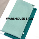WAREHOUSE SALE 20x20 Colorblock Pillow Cover with Cream Stripe