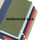 WAREHOUSE SALE 20x20 Colorblock Pillow Cover with Navy Stripe