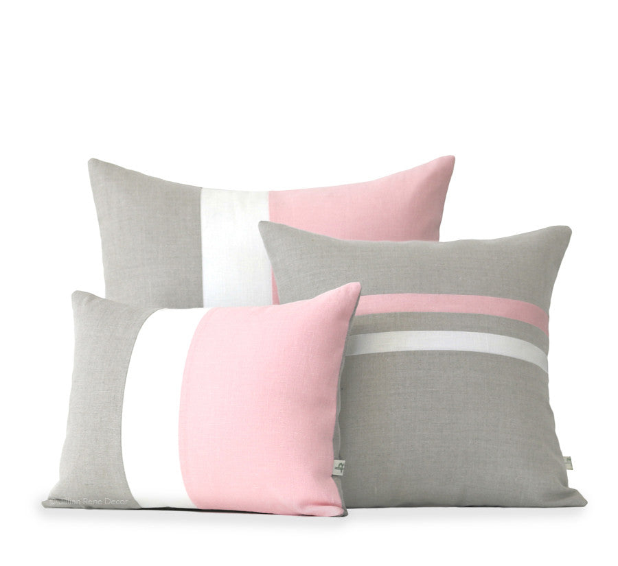 Rose Quartz Pillow Cover Set of 3