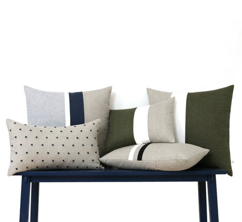 Linen Pillow Cover Set of 5: As seen in Emily Henderson's Living Room