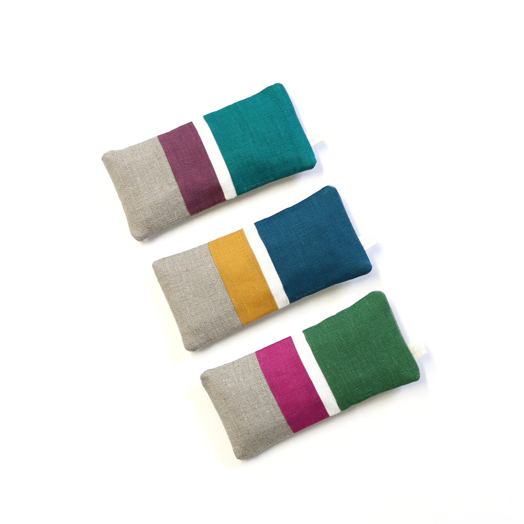 Multi Stripe Eye Pillow