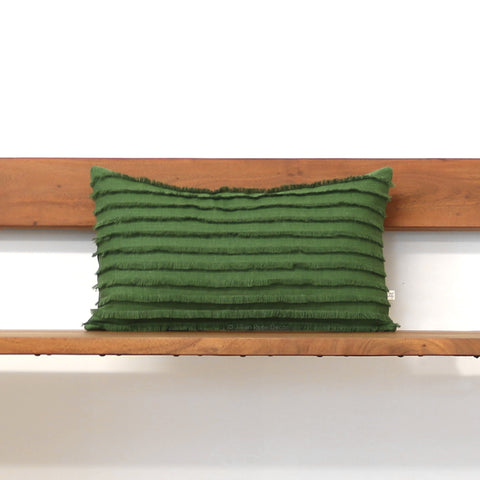 Meadow Layered Fringe Pillow