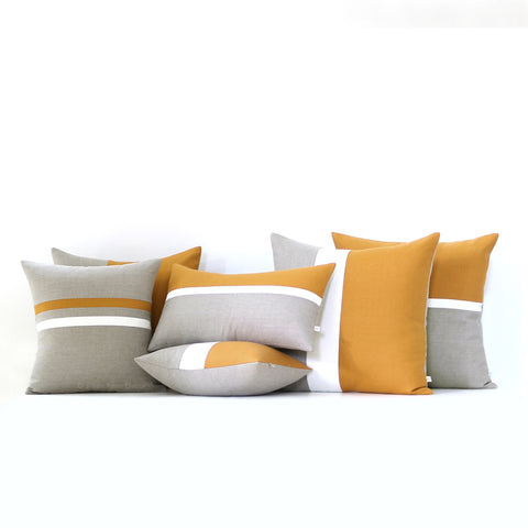 Marigold Pillow Cover Set of 6