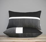 Silk Horizon Line Pillow