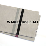 WAREHOUSE SALE 12x20 Striped Pillow Cover with Stone Stripe