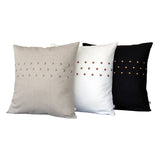 Studded Linen Pillow - 20x20