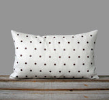 Studded Pillow - Cream Linen
