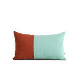 Multicolor Two Tone Colorblock Pillow - Limited Edition Colors