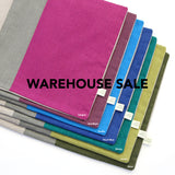 WAREHOUSE SALE 12x16 Colorblock Pillow Cover with Stone Stripe