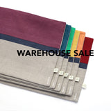 WAREHOUSE SALE 12x20 Horizon Line Pillow Cover with Navy Stripe