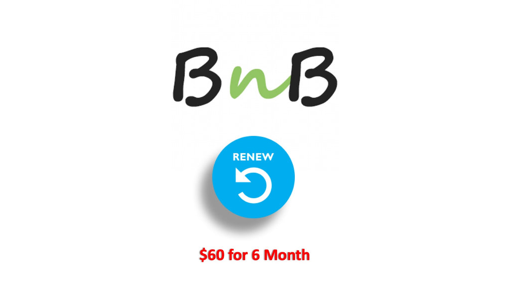 BNB Renewal Fee ( 6 Month )