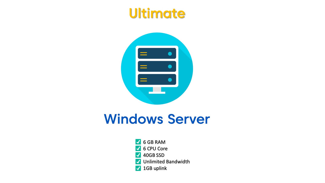 Sneaker Server Windows 2016 (Ultimate)
