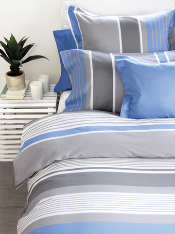 Azur 220TC Sateen Duvet Cover