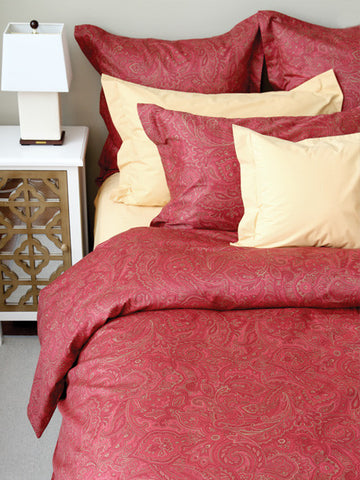 Marrakesh 210TC Sateen Featherbed Cover