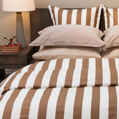 Monaco Cinnamon 220TC Sateen Featherbed Cover
