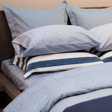 Monaco Navy 220TC Sateen Pillow Cases
