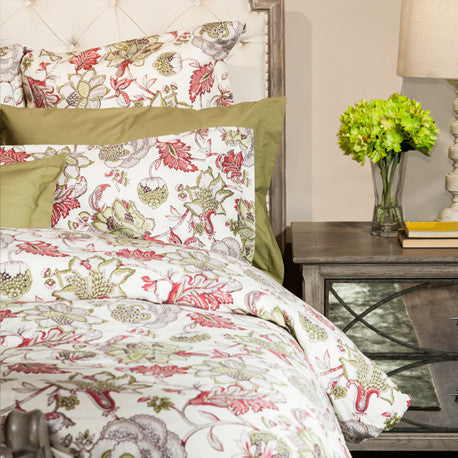 "Olivia 220TC Sateen 15"" Fitted Sheet"