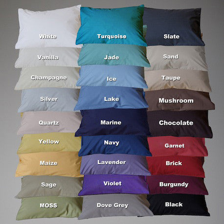 220TC Percale Deluxe Pillow Cases
