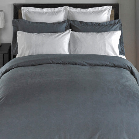 Swirl 300TC Sateen Featherbed Cover