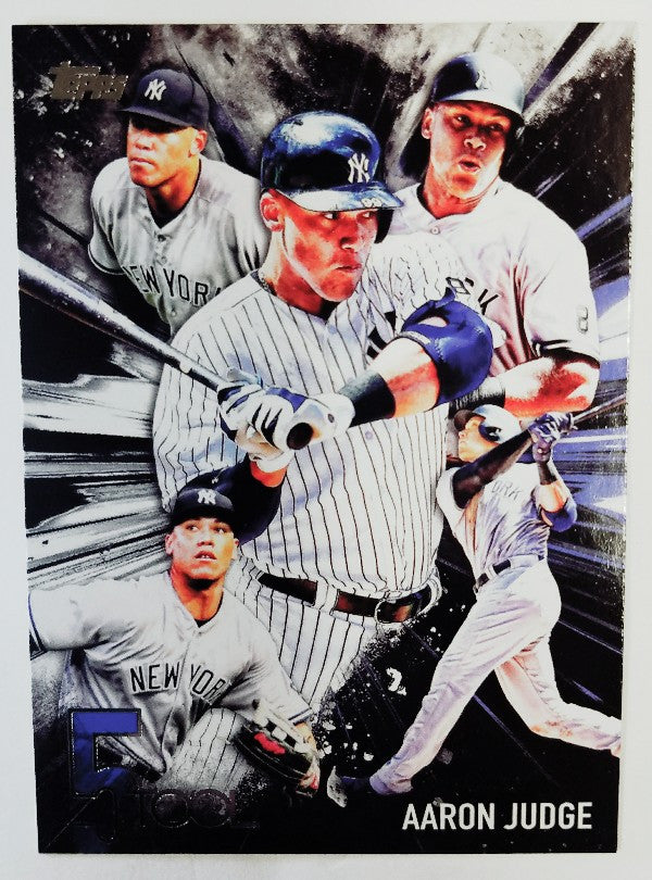 Aaron Judge, Yankees, Rookie, Home Runs, Bombers, Bronx, New York, RC, Baseball, 5-Tool