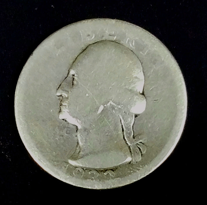 1932-D, Denver, Silver, Quarter, Washington, 25c, Collect