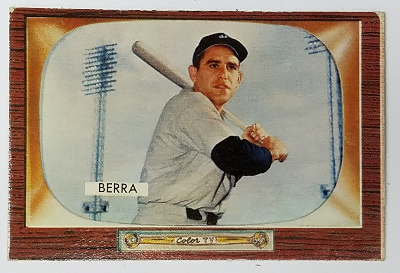 Yogi Berra, Lawrence, Catcher, New York, Yankees, HOF, Bombers, Bronx, New York, RC, Baseball, Card, Rare, Bowman