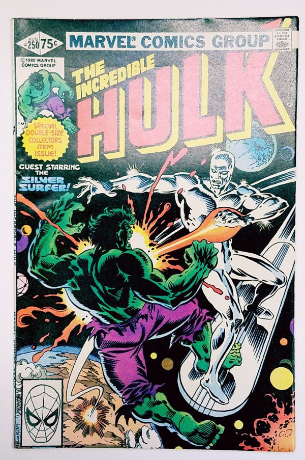 Hulk, Marvel, Bruce Banner, Comic Book, Silver Surfer, Collective Man, Fantastic Four, Shooter, Buscema, Costanza