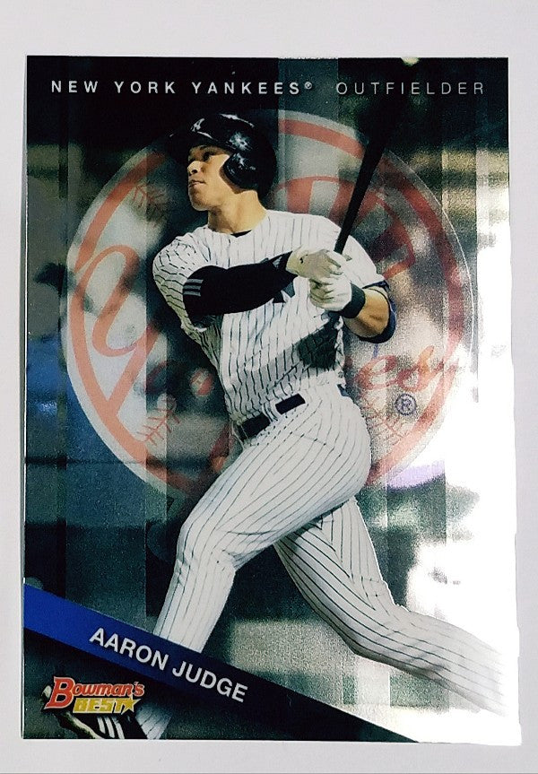 Aaron Judge, Yankees, Rookie, Home Runs, Bombers, Bronx, New York, RC, Baseball, Bowman, Best, Top Prospect