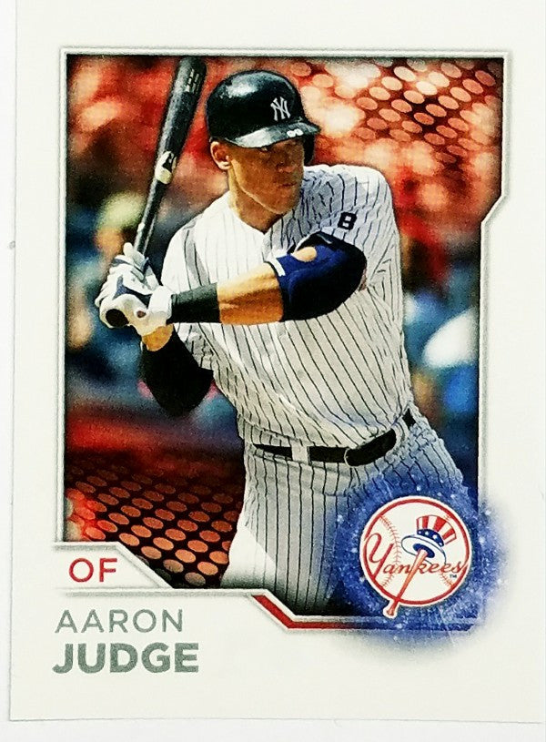 Aaron Judge, Yankees, Rookie, Home Runs, Bombers, Bronx, New York, RC, Baseball, Sticker