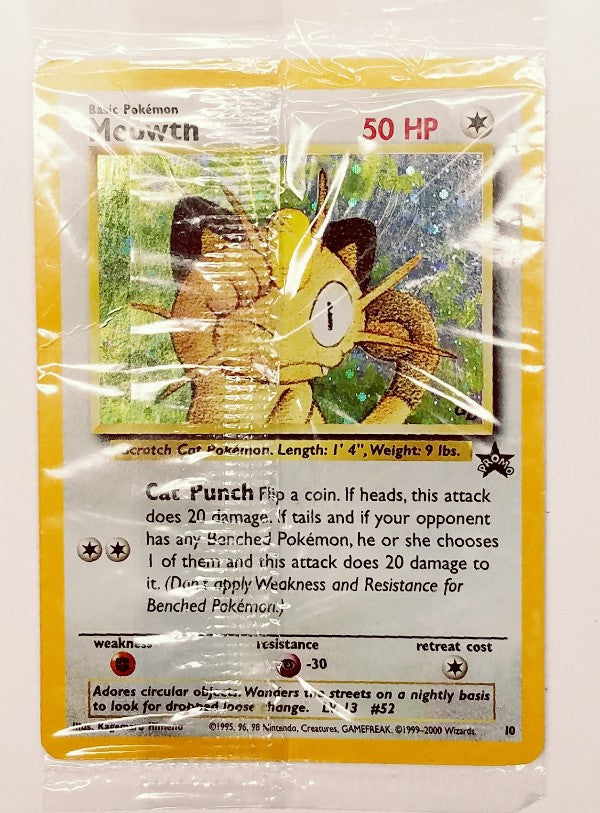Meowth, black star promo=