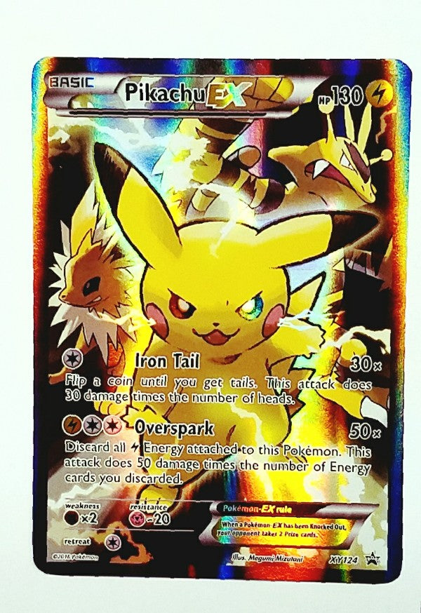 XY124, Pikachu, Ex, Pokemon, XY, Generations, Promo, Black Star Promo